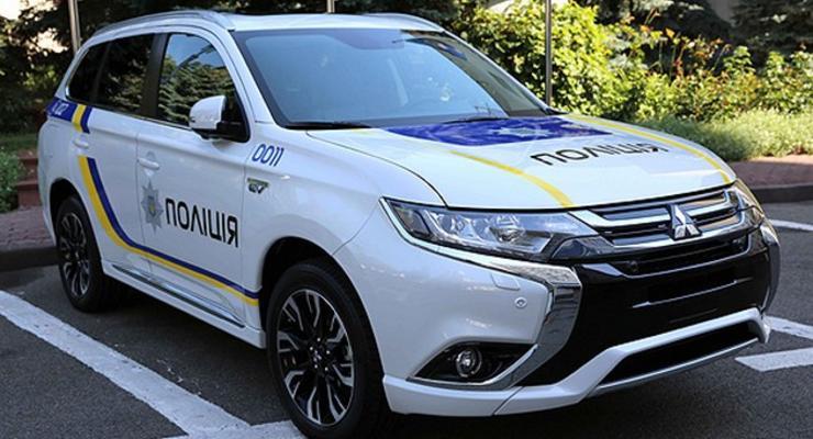 Нацполиция закупит 635 автомобилей Mitsubishi