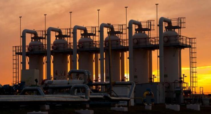 В украинских газохранилищах сократились запасы газа