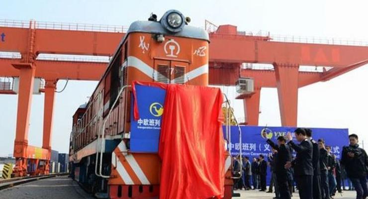 Китай запустил прямые грузовые ж/д перевозки в Лондон