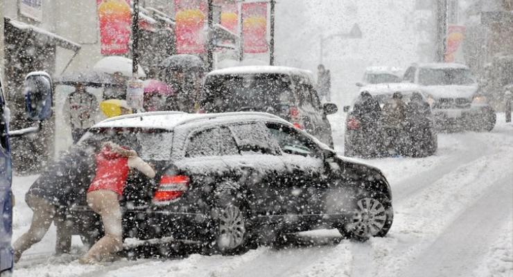 Во сколько обходится Киеву снежная непогода