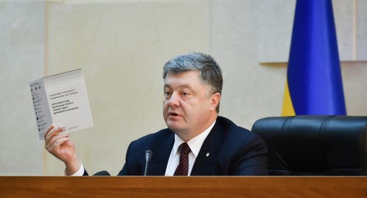 Порошенко в Одессе: дорогу на родину президента нужно достроить