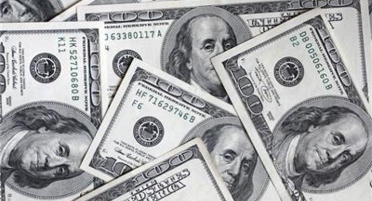 Курс продажи наличного доллара упал на 18 копеек