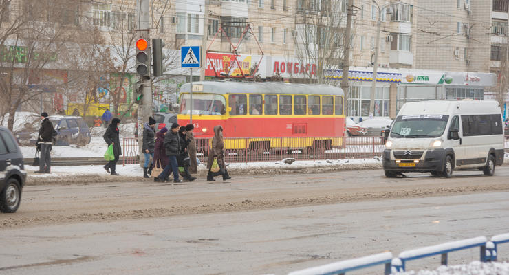 Укравтодор построит безопасные пешеходные переходы