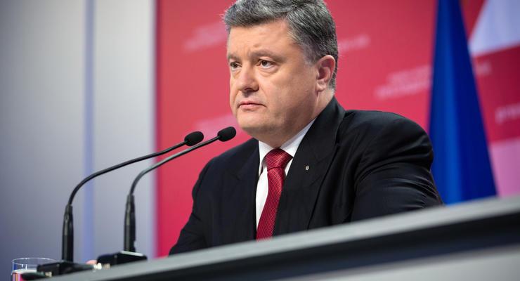 Блокада Донбасса обвалит гривну и приведет к огромным убыткам - Порошенко