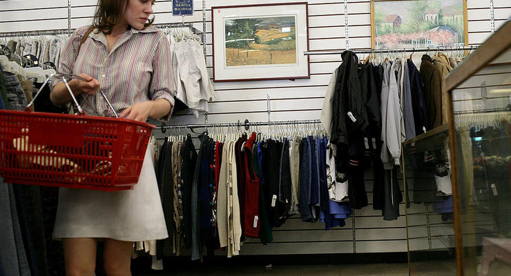 Украинцы продают краденые вещи из Европы в бутиках Киева