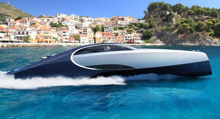 Bugatti презентовала яхту с джакузи и мангалом на борту