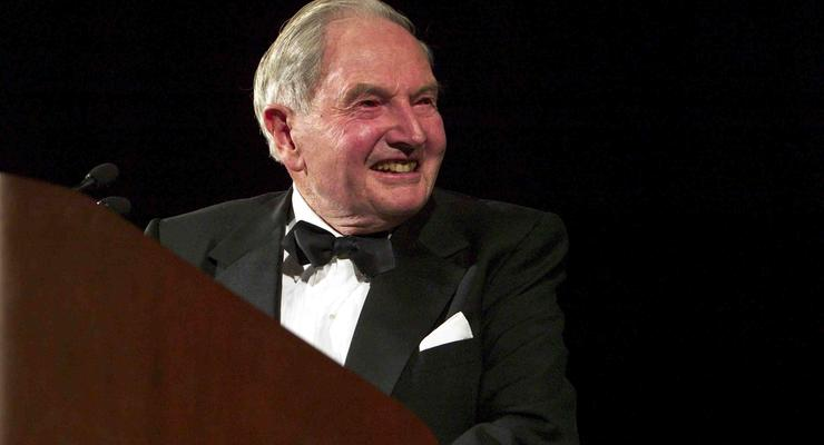 Умер Дэвид Рокфеллер - старейший миллиардер в мире