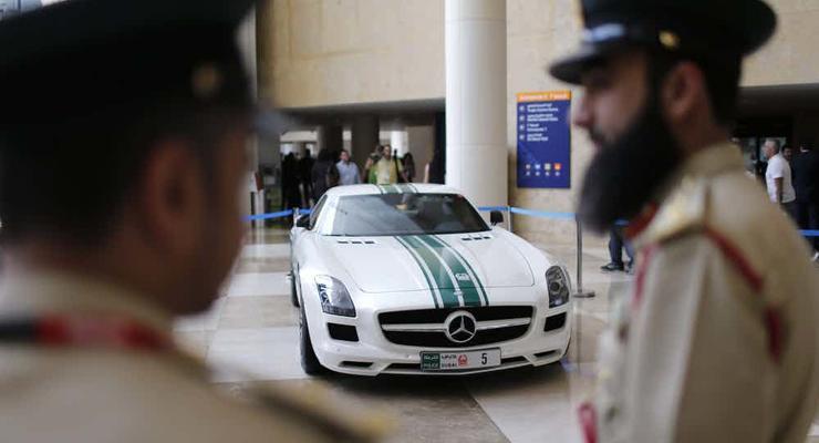 ТОП-5 самых крутых авто полиции Дубая