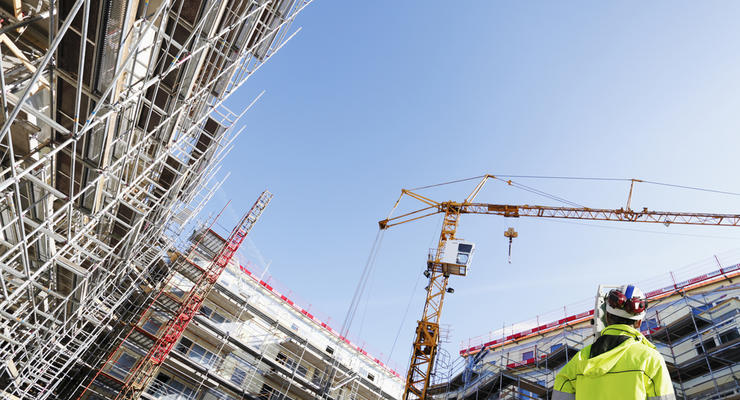 Строительная отрасль Украины увеличила темпы роста