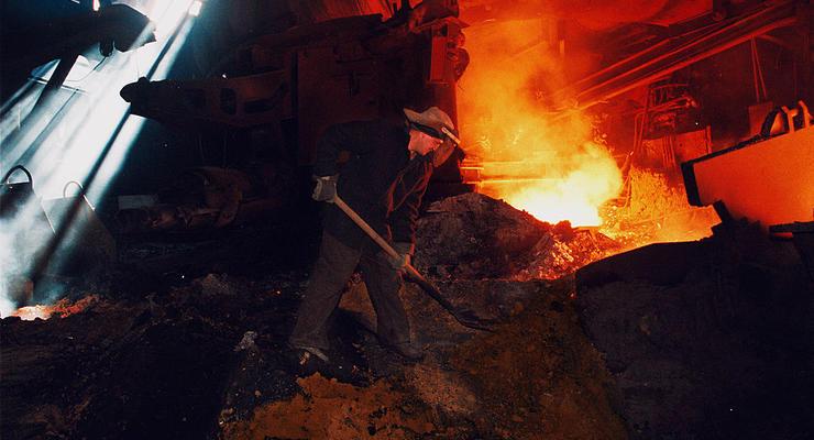 В Украине сократилось промышленное производство