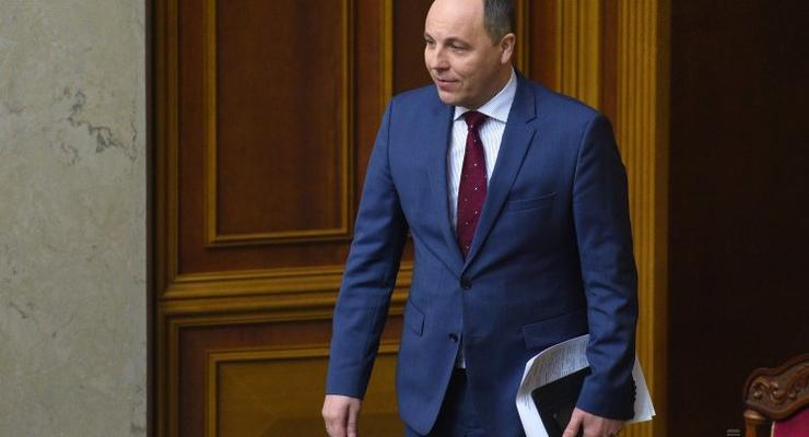 Е-декларирование: Парубий отказался от банковских вкладов