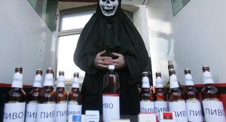 В Украине хотят отменить лицензии на алкоголь и сигареты