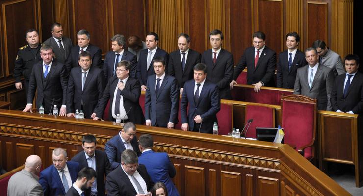 Сколько заслужили за свой труд министры Украины