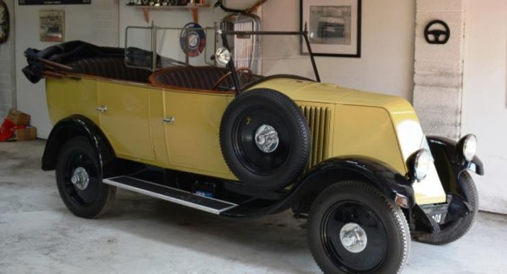 В Англии продадут раритетный Renault Индианы Джонса