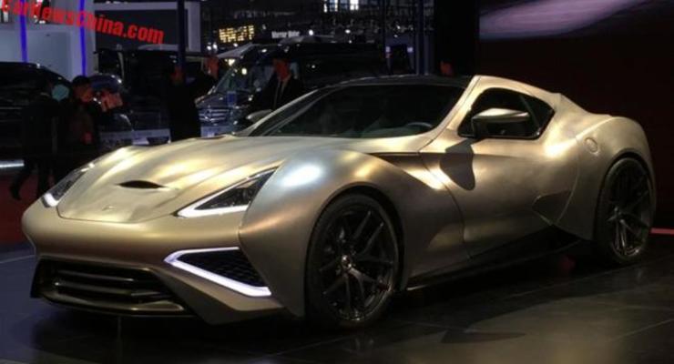 В Китае показали самое дорогое в мире авто за 9,57 миллионов долларов