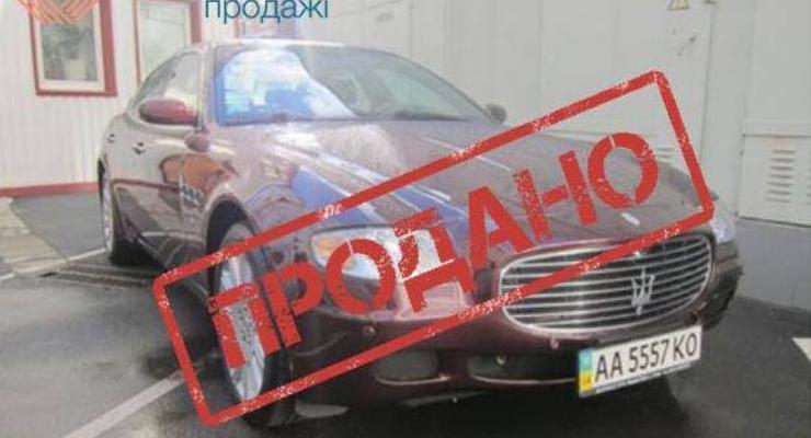 Maserati обанкротившегося банка Надра продали за 14 тысяч долларов