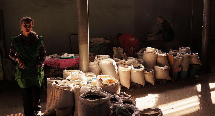 На оккупированном Донбассе не могут продать свои товары в РФ
