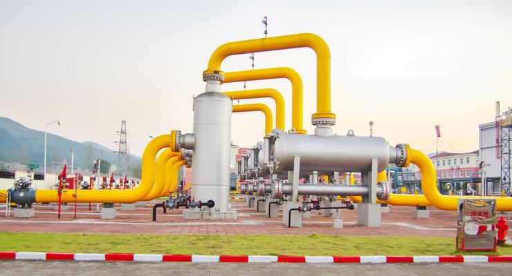 В Украине выросли показатели транзита газа