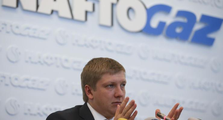 Нафтогаз выиграл микродуэль у Газпрома