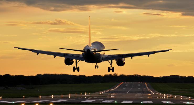 Украинские авиакомпании увеличили перевозки