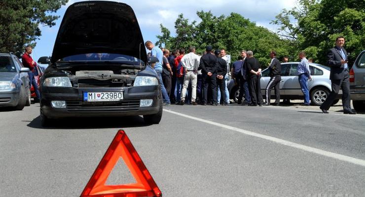 В Украину ввезли почти 500 тысяч авто с иностранной регистрацией