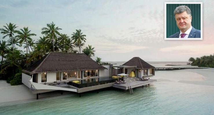 Испания и Мальдивы: где любит отдыхать Петр Порошенко