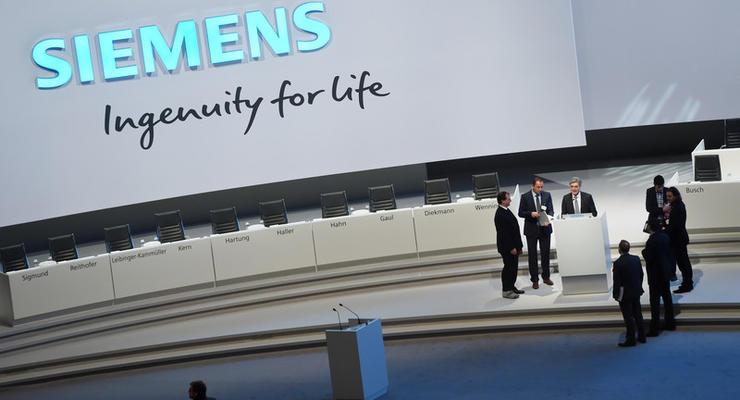 Siemens может потерять от скандала с турбинами 200 миллионов евро