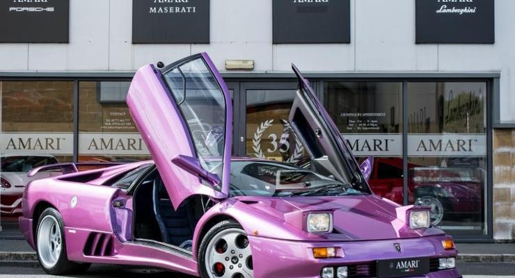 Lamborghini Diablo из клипа Jamiroquai оценили в 730 тысяч долларов