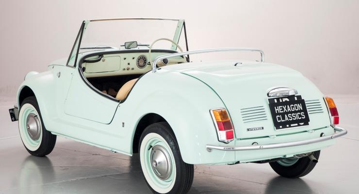 На продажу выставлен крошечный родстер Fiat