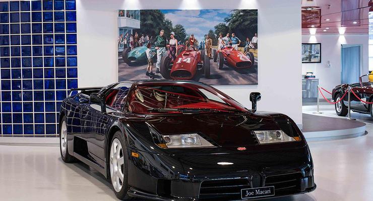 В Англии продают Bugatti за 1,2 миллиона долларов
