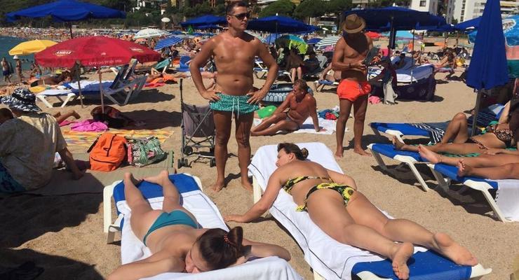 Главный радикал Ляшко засветился на пляже Испании