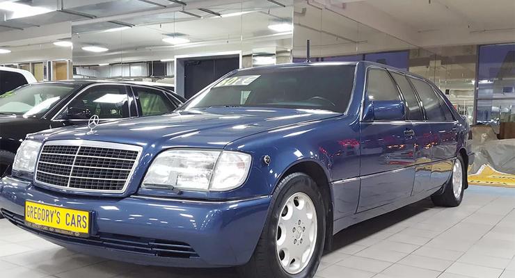 В России продают первый лимузин Ельцина за 330 тысяч долларов