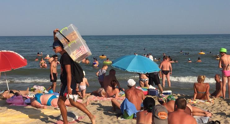 Сколько может заработать продавец кукурузы на одесском пляже