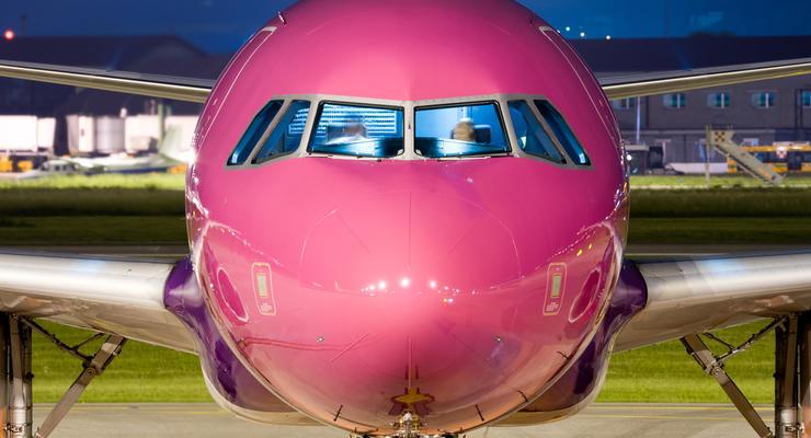 Wizz Air запустит пять новых рейсов из Киева