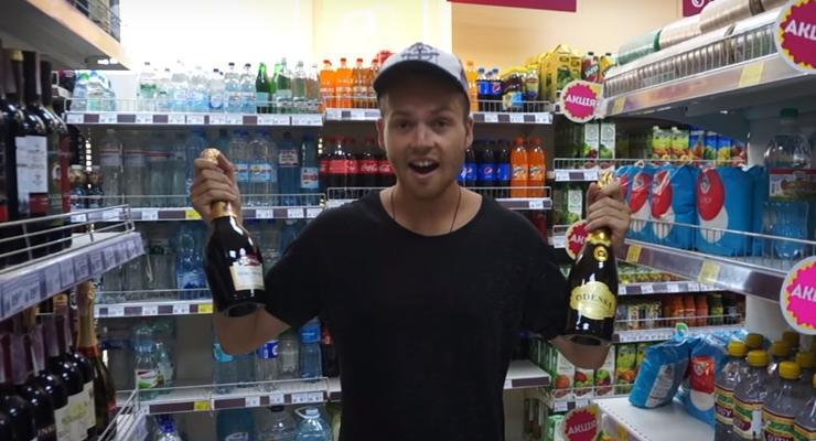 Украина поразила смешными ценами блогера из Новой Зеландии