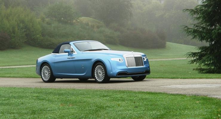 Единственный в мире кабриолет Rolls-Royce продают за 2 миллиона евро