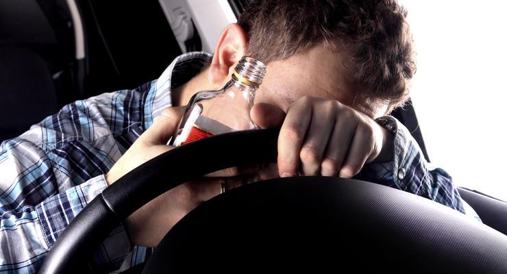 Штраф за вождение в пьяном виде хотят увеличить до 40 тысяч гривен
