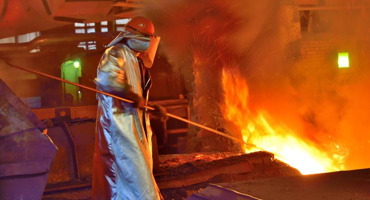 Выплавка стали в Украине достигла максимума за восемь месяцев