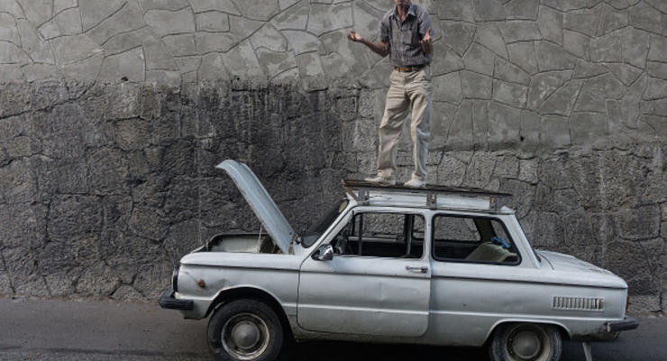 Горы автохлама: половину авто в Украине нужно утилизировать