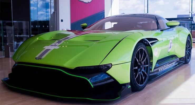 Редкий Aston Martin в цвете Lamborghini оценили в 3,5 млн долларов