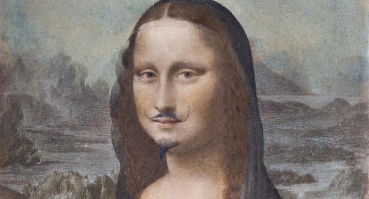 Мону Лизу с усами и бородой продали за 632 тысячи евро