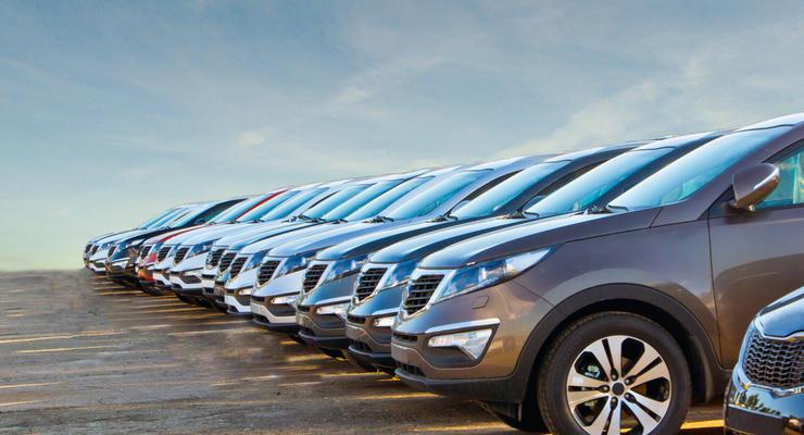 В Украине оштрафовали три авто на еврономерах