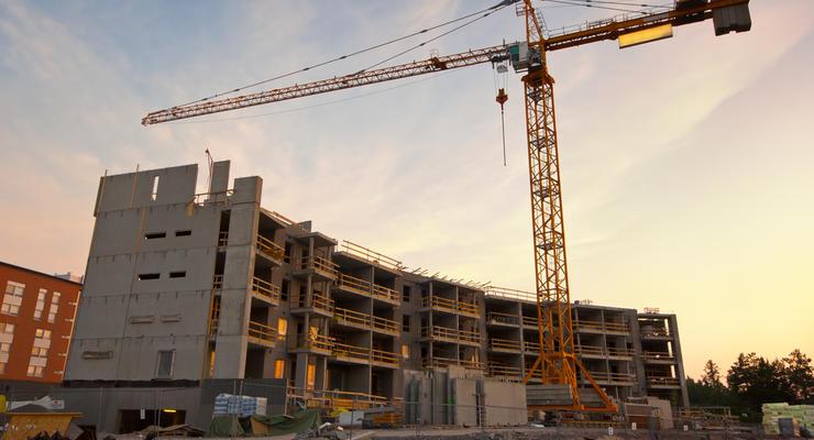 Строительство в Украине за 10 месяцев выросло на 23%