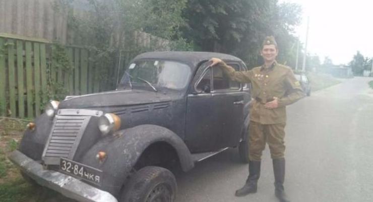 В Украине продают трофейное авто за 130 тысяч гривен