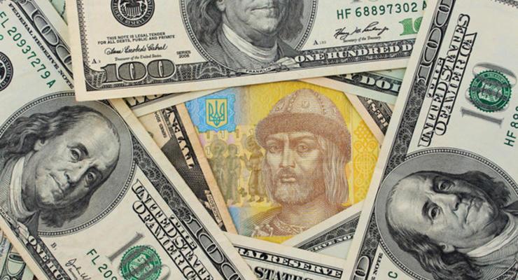 Наличный доллар подешевел на 40 копеек