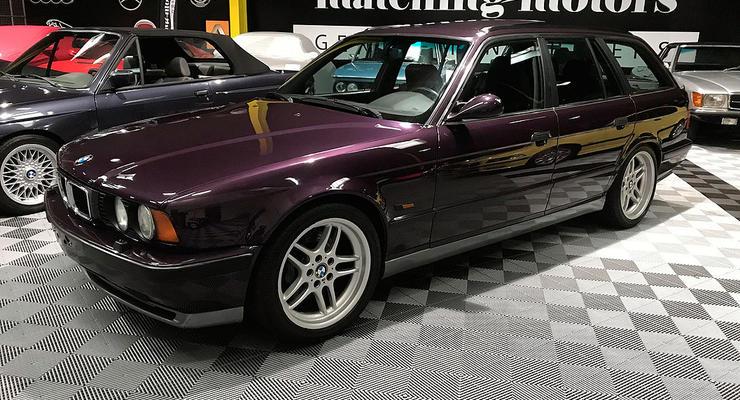 Во Франции продают старый универсал BMW за 65 тысяч евро