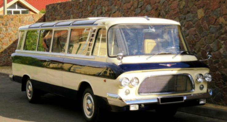 В Украине продают уникальный автобус за 430 тыс. евро