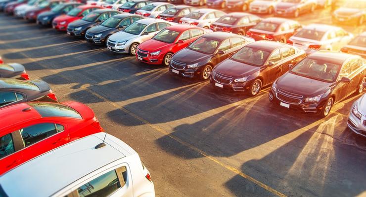 В Украине упал спрос на новые авто