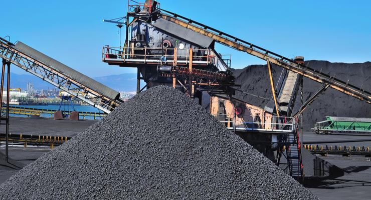Украина с начала года значительно увеличила импорт угля