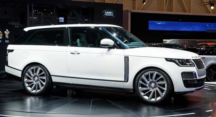 Land Rover показал самый дорогой кроссовер в мире